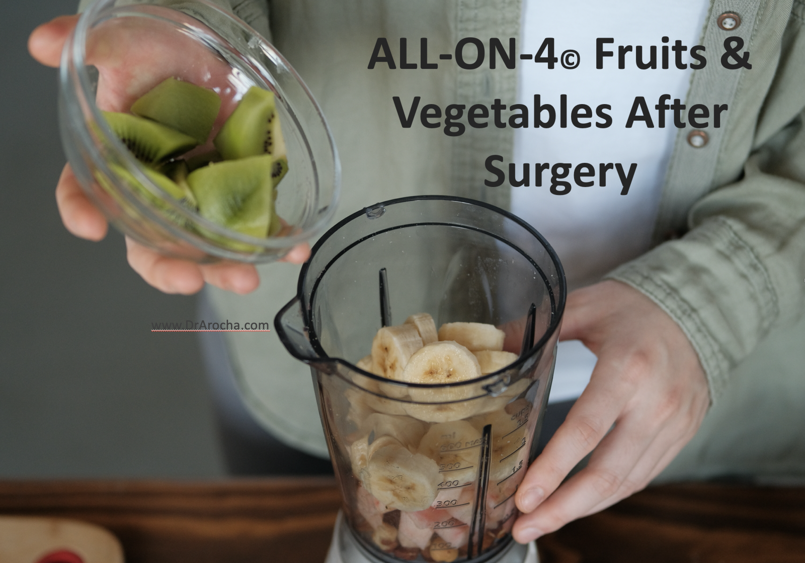 all on 4 fruits diet after surgery