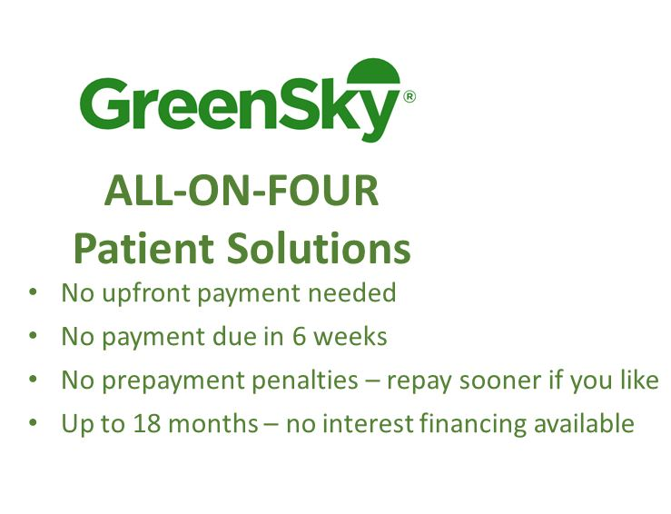 Cost Of All On 4 For Teeth In A Day Cost Payment Options Financing