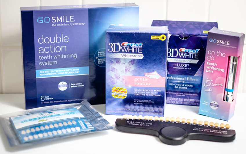 over the counter whitening